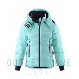 Reimatec down jacket Waken Light turquoise, size 140 cm