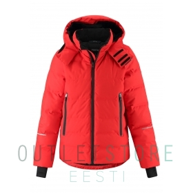 Reimatec down jacket Wakeup Tomato red, size 140 cm