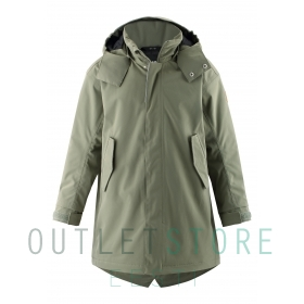 Reimatec light insulated parka Limingen Greyish green, size 128 cm