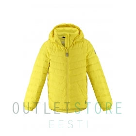 Reima lightweight down jacket Falk Lemon yellow, size 128 cm
