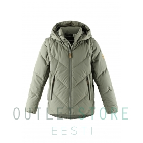 Reima 2in1 down jacket Beringer Greyish green, size 128 cm