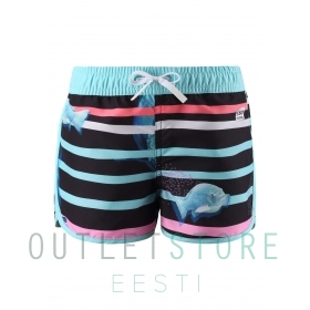 Shorts, Fidzi Unicorn pink,128 cm