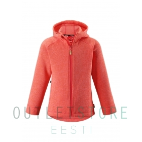 Reima fleese jacket PURSI Coral red