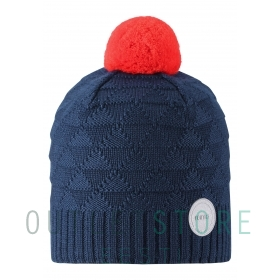 Reima winter hat Longevity Navy, size 52/54 cm