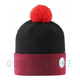 Reima winter hat Sognefellet Lingonberry red, size 56/58 cm