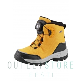 Reimatec winter boots Orm Ochre yellow, size 32