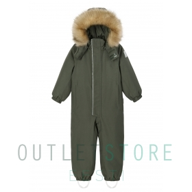 Reimatec winter overall Trondheim Thyme green, size 104