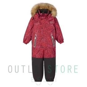 Reimatec winter overall Kipina Jam red, size 104