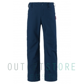 Reima Softshell pants, Agern Navy, size 128 cm