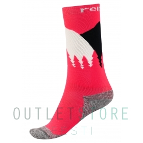 Reima wool blend socks Ski Day Strawberry red