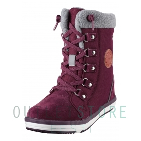 Reimatec® winter boots FREDDO Dark Berry