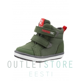 Reimatec spring high-top trainers PATTER Khaki green