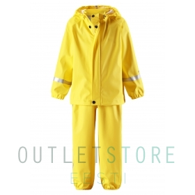 Reima toddlers rain outfit Tihku Yellow