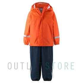 Reima toddlers rain outfit Tihku Orange