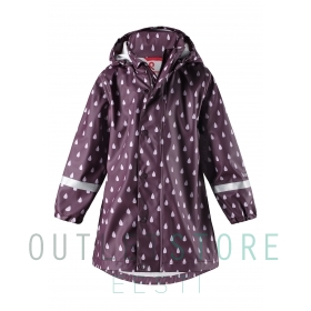 Reima raincoat Vatten Stone Deep purple