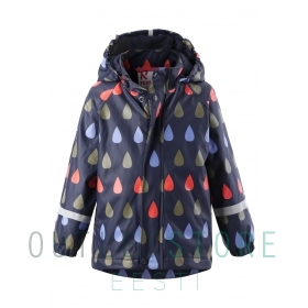 Reima raincoat with fleece lining Koski Navy