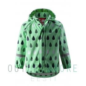 Reima rain jacket VESI Pale green