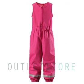Reima rainpants with fleece lining LOISKE Pink