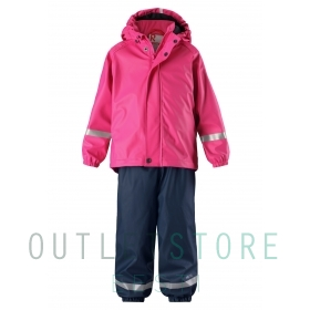 Reima rain outfit with fleece lining Joki Pink