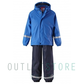 Reima rain outfit with fleece lining Joki Blue