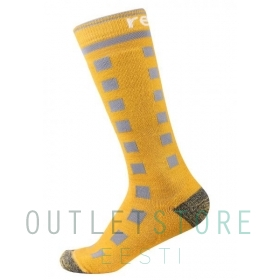 Reima wool blend socks Ski Day Lemon yellow