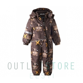 Lassie winter overall MEREL Dark brown
