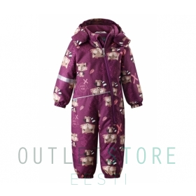 Lassie winter overall MEREL Boysenberry