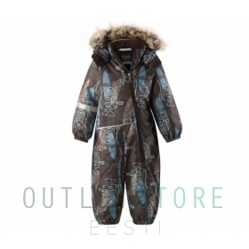 Lassie winter overall ZAIGA Dark brown