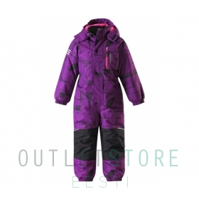 Lassietec winter overall Oulas Amethyst lilac