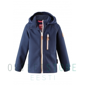 Reima softshell jacket VANTTI Navy
