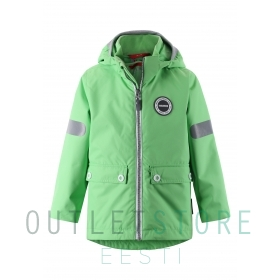 3-in-1 Reimatec waterproof jacket Sydvest Light green