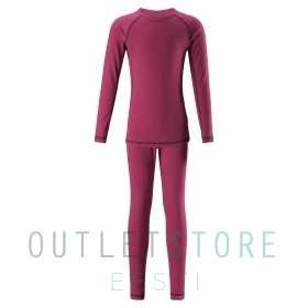 Reima base layer set LANI Cranberry pink