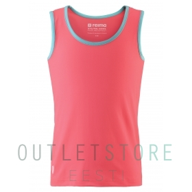 Reima Juniors tank top Yyteri Neon red