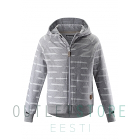 Reima hooded sweatshirt Nosturi Melange grey